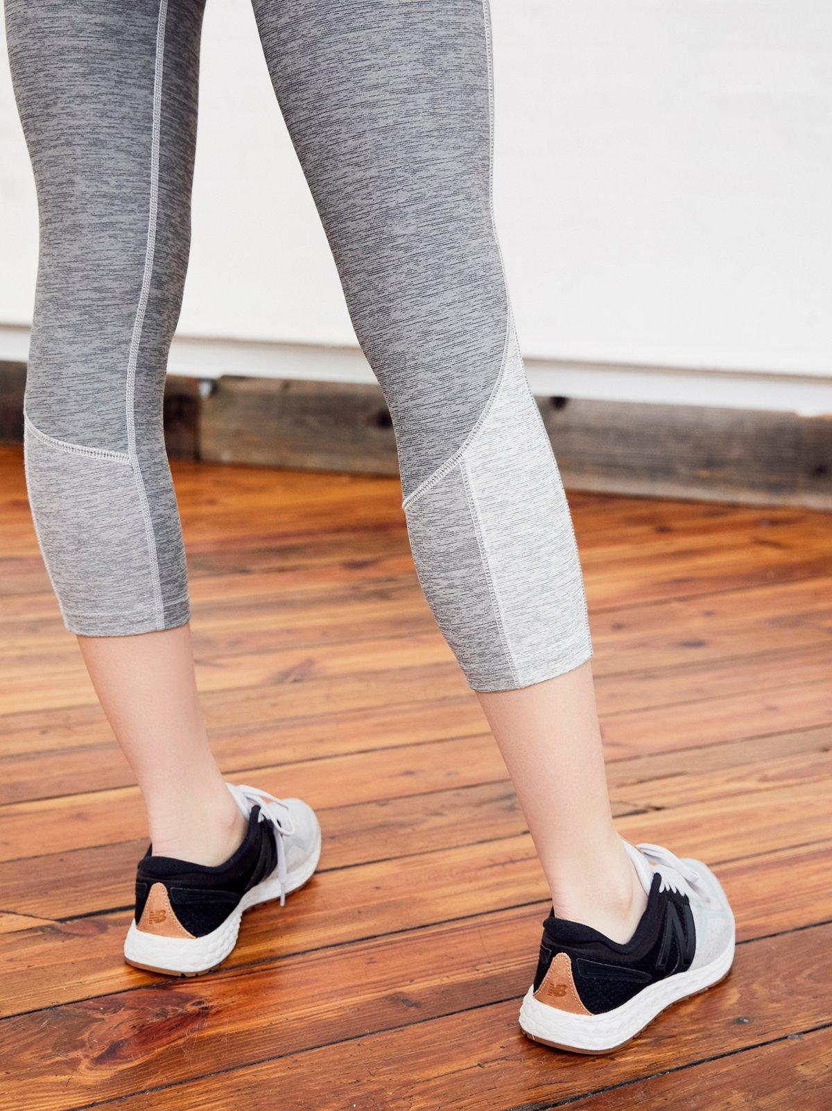 Hybrid Run Crop Legging