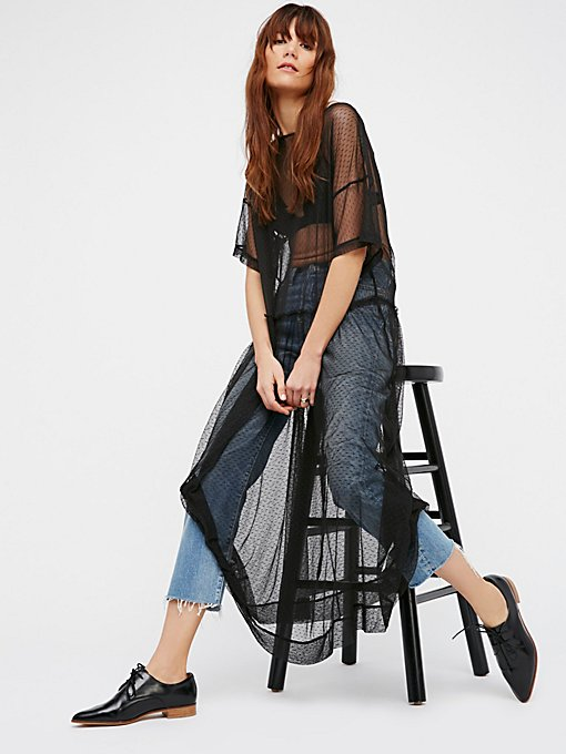 Product Image: 透视圆点网纱衬裙