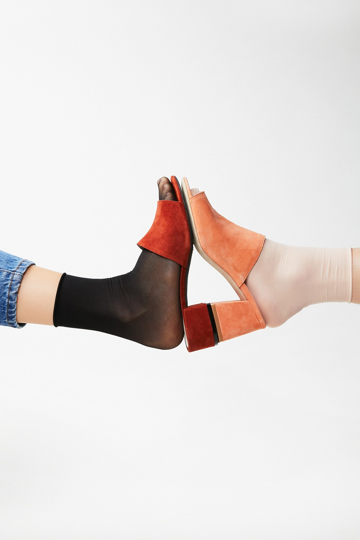 Napa Sheer Crew Sock