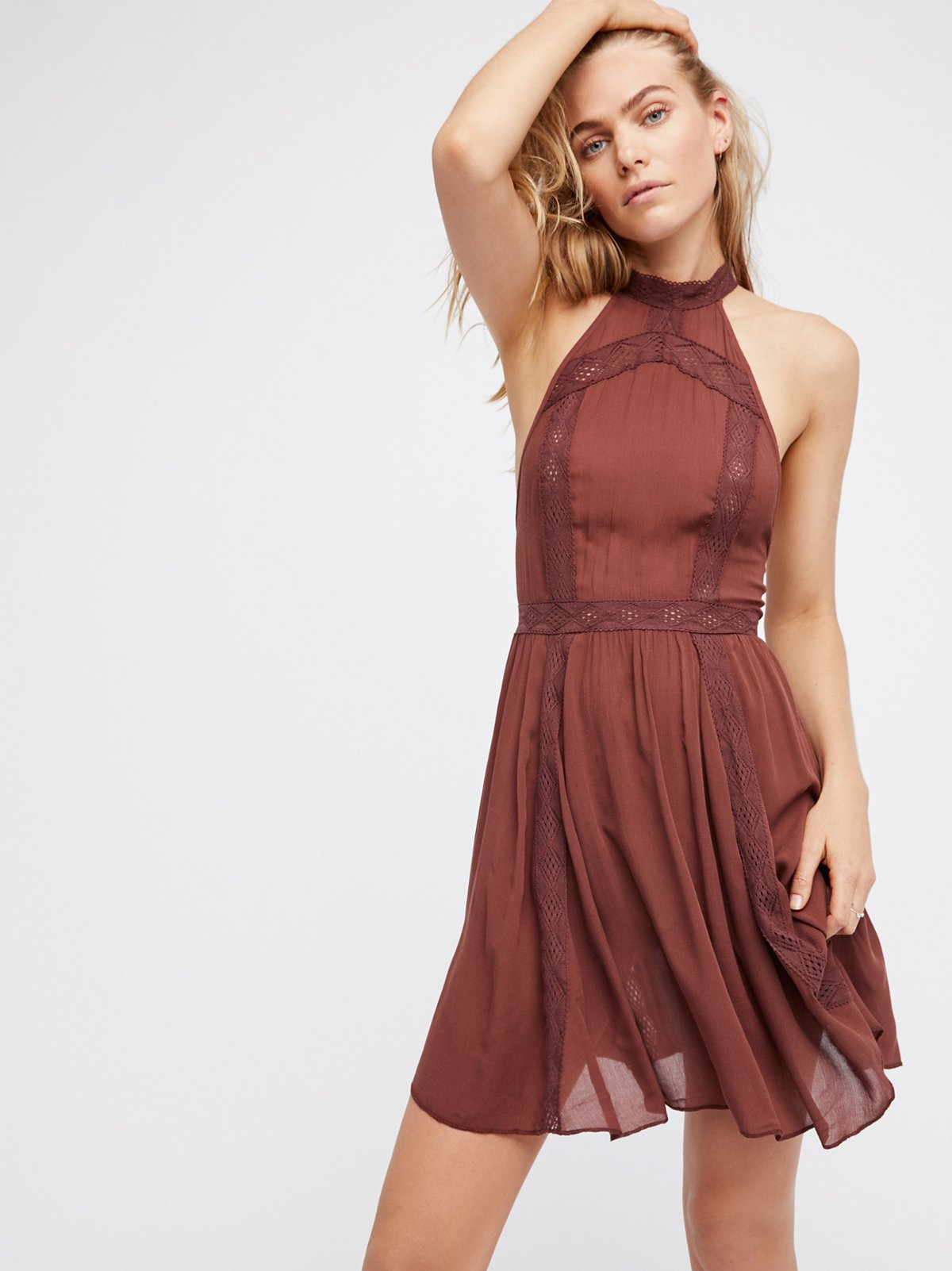 Falling For You Fit and Flare Slip