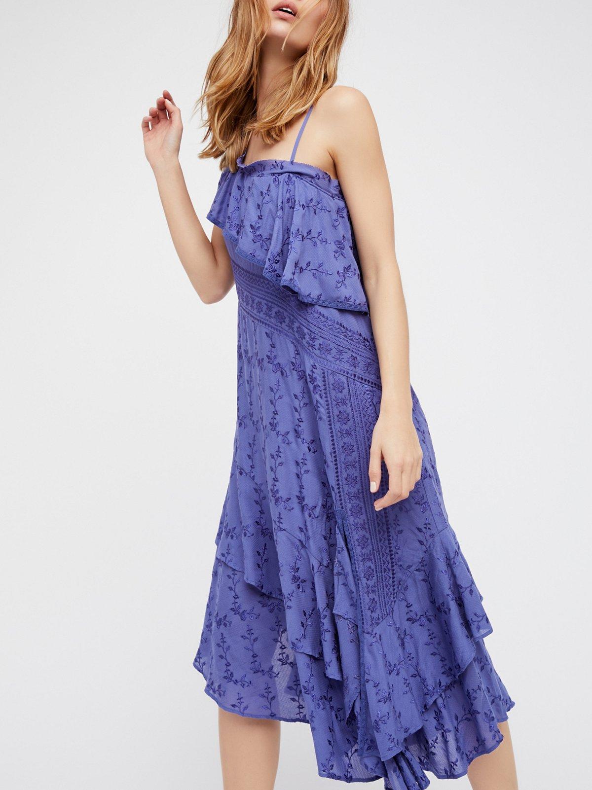Eastern Sun Midi Dress
