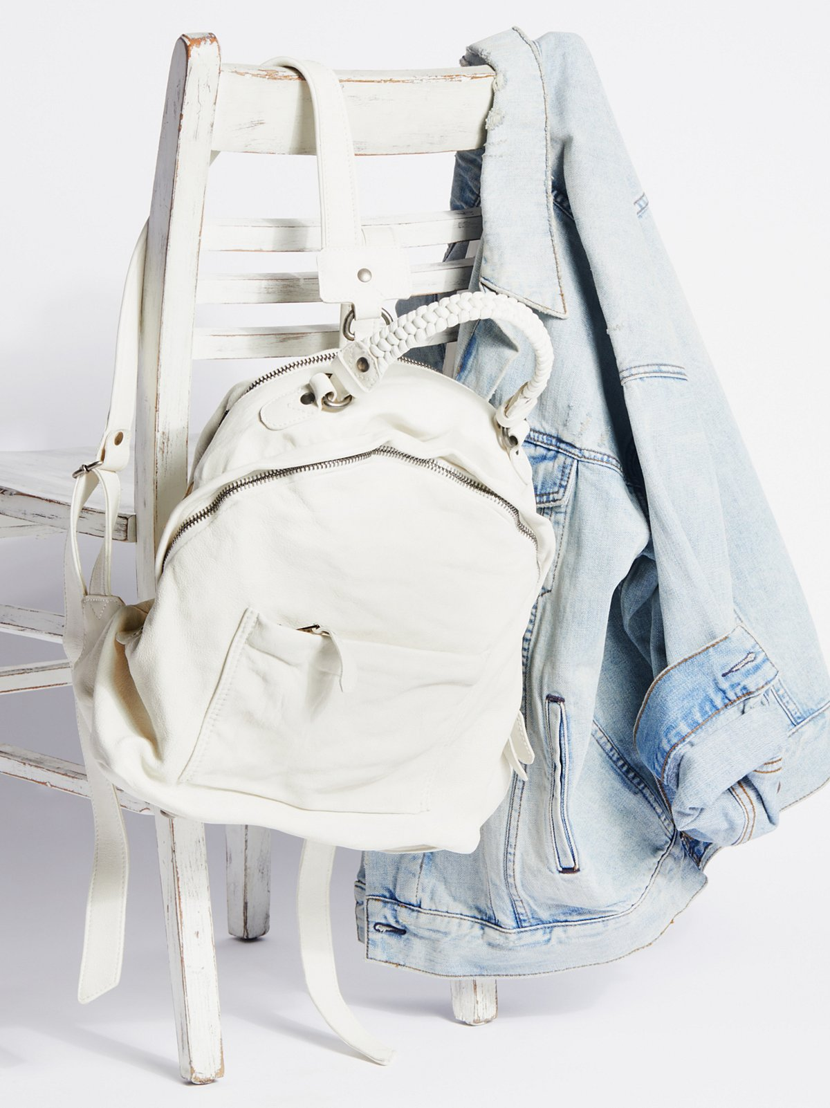 Quartz Distressed Backpack