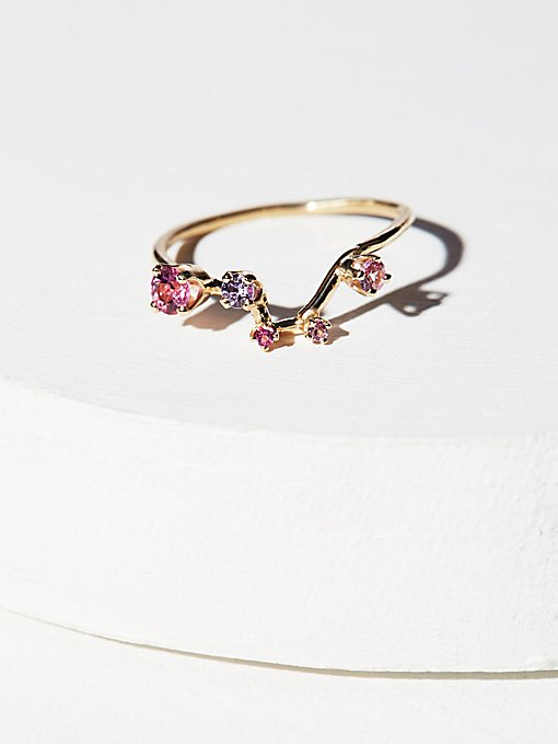 Product Image: 14K Constellation Stone Ring