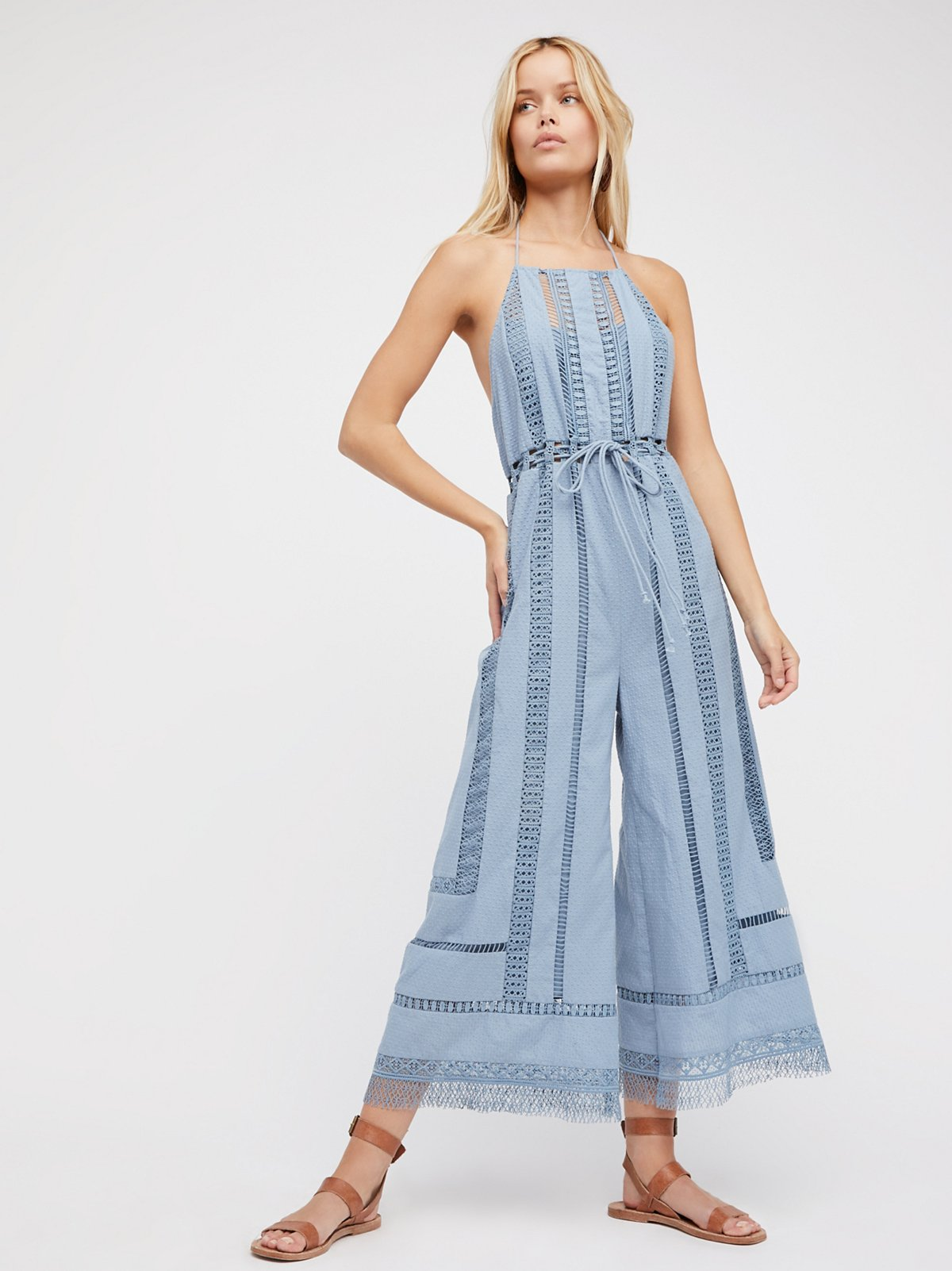 Sydney Sky Romper At Free People Clothing Boutique