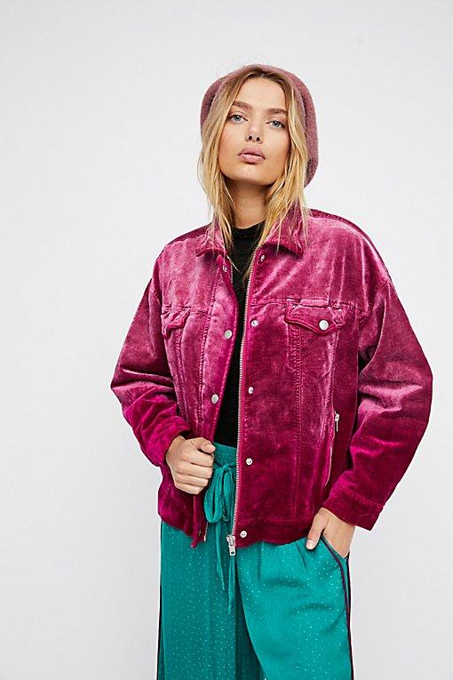 Product Image: Velvet Trucker Jacket