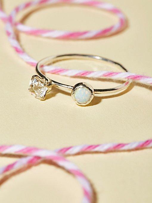 Product Image: Arc Raw Stone Ring