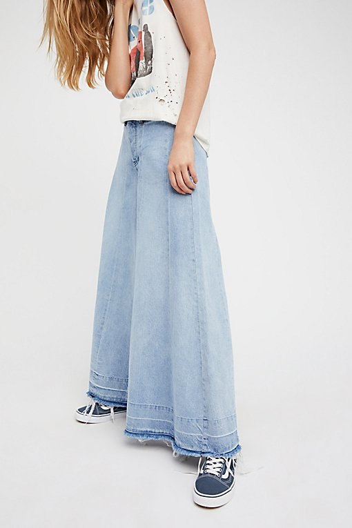 Product Image: Run Through The Moss Wide Leg Jeans