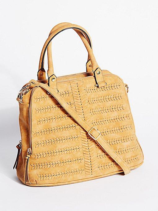 Product Image: Rosa人造革手提包