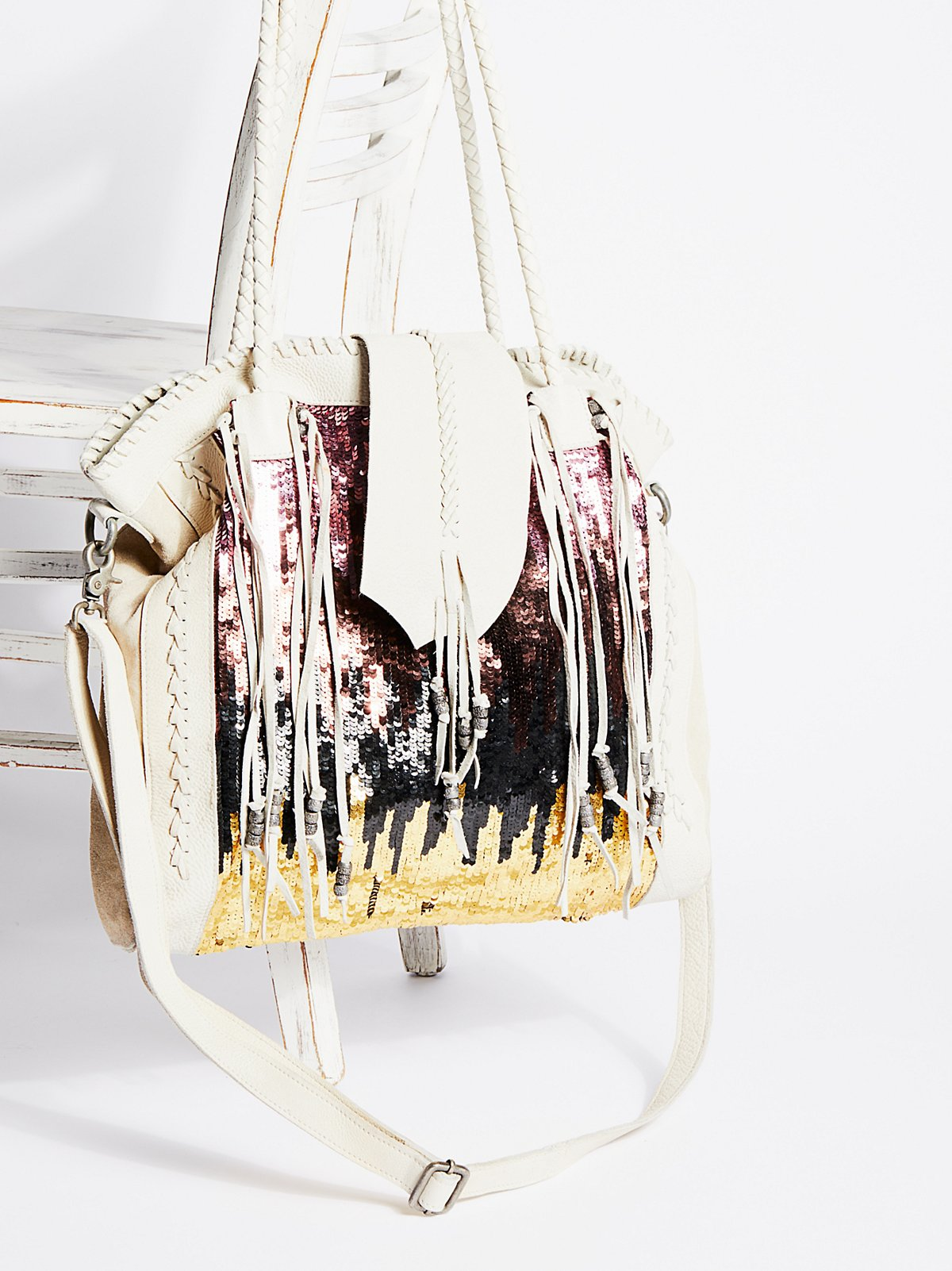Midnight Hour Sequin Tote