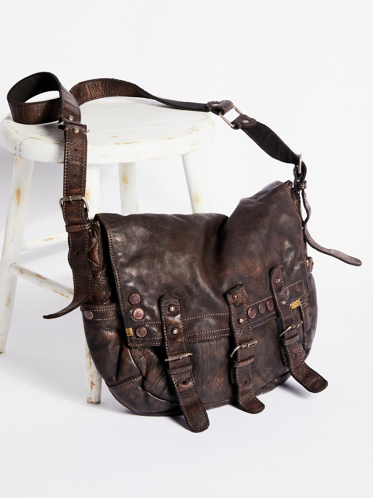 Glade Leather Messenger