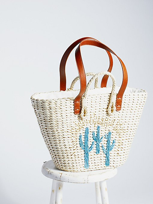 Product Image: Sundrenched Straw Tote