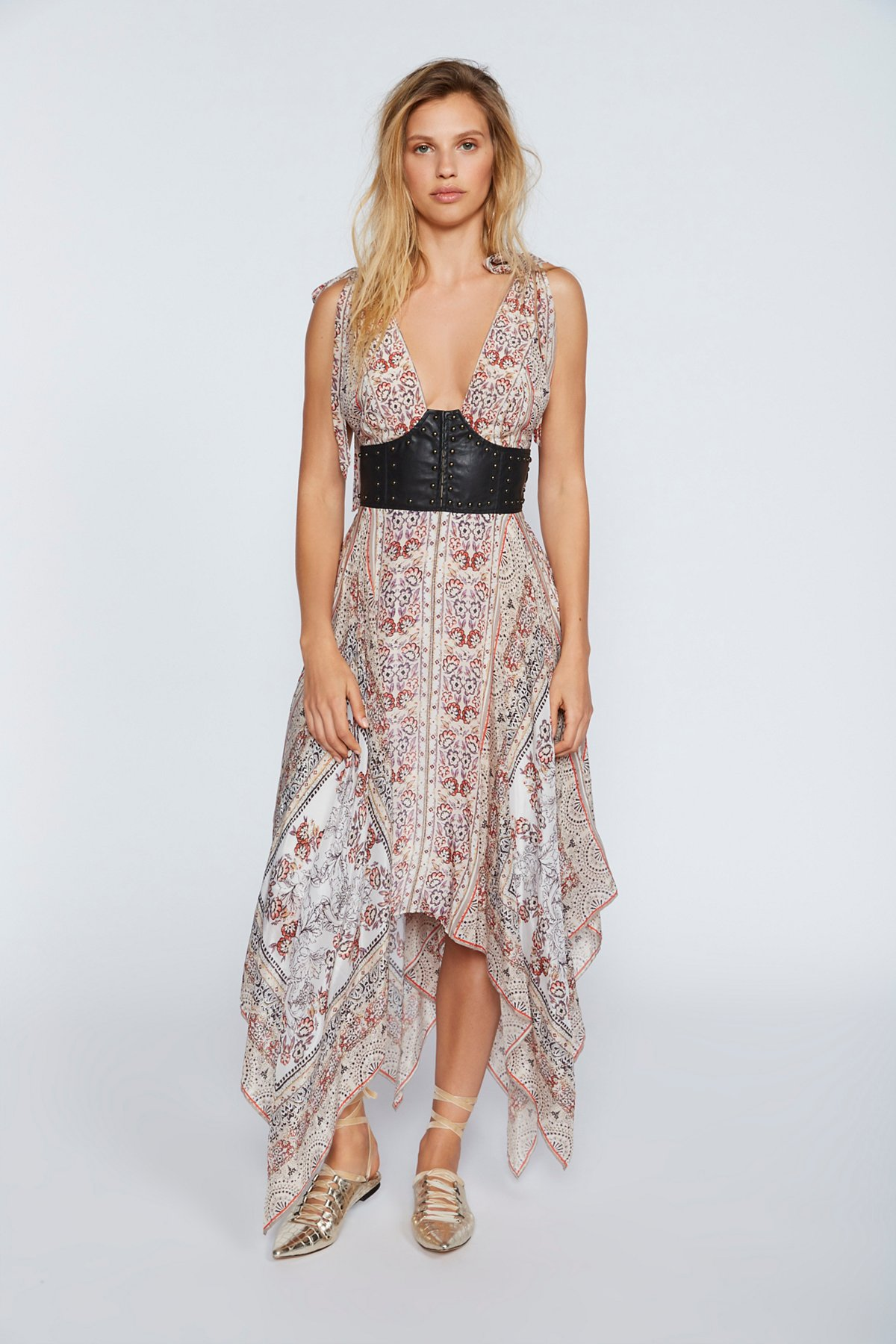 You For Me Printed Maxi Dress