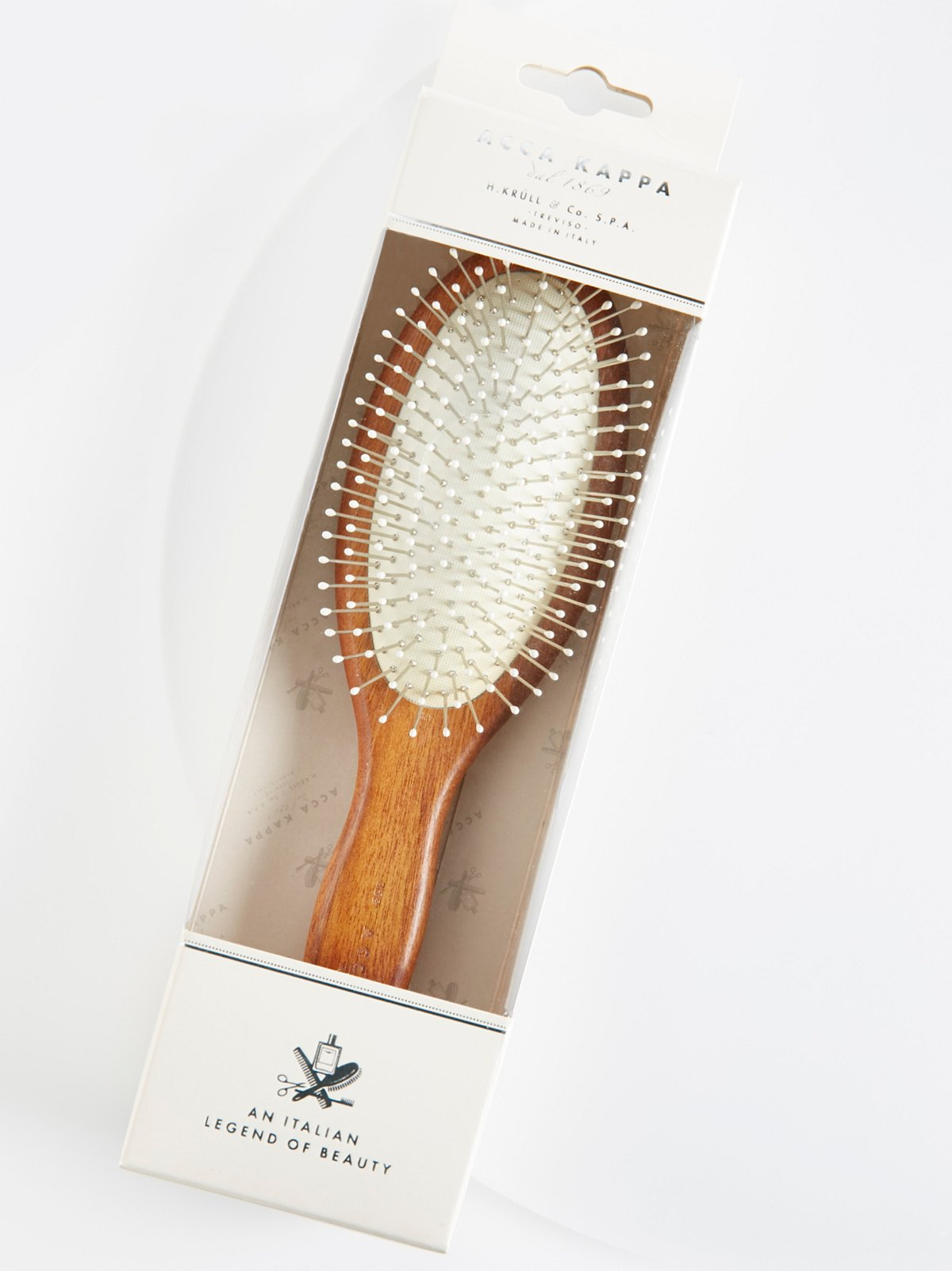 Acca Kappa Pneumatic Hair Brush With Chrome Pins