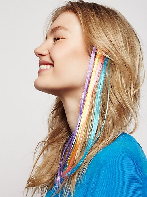 Product Image: Rainbow Hair Extension Set