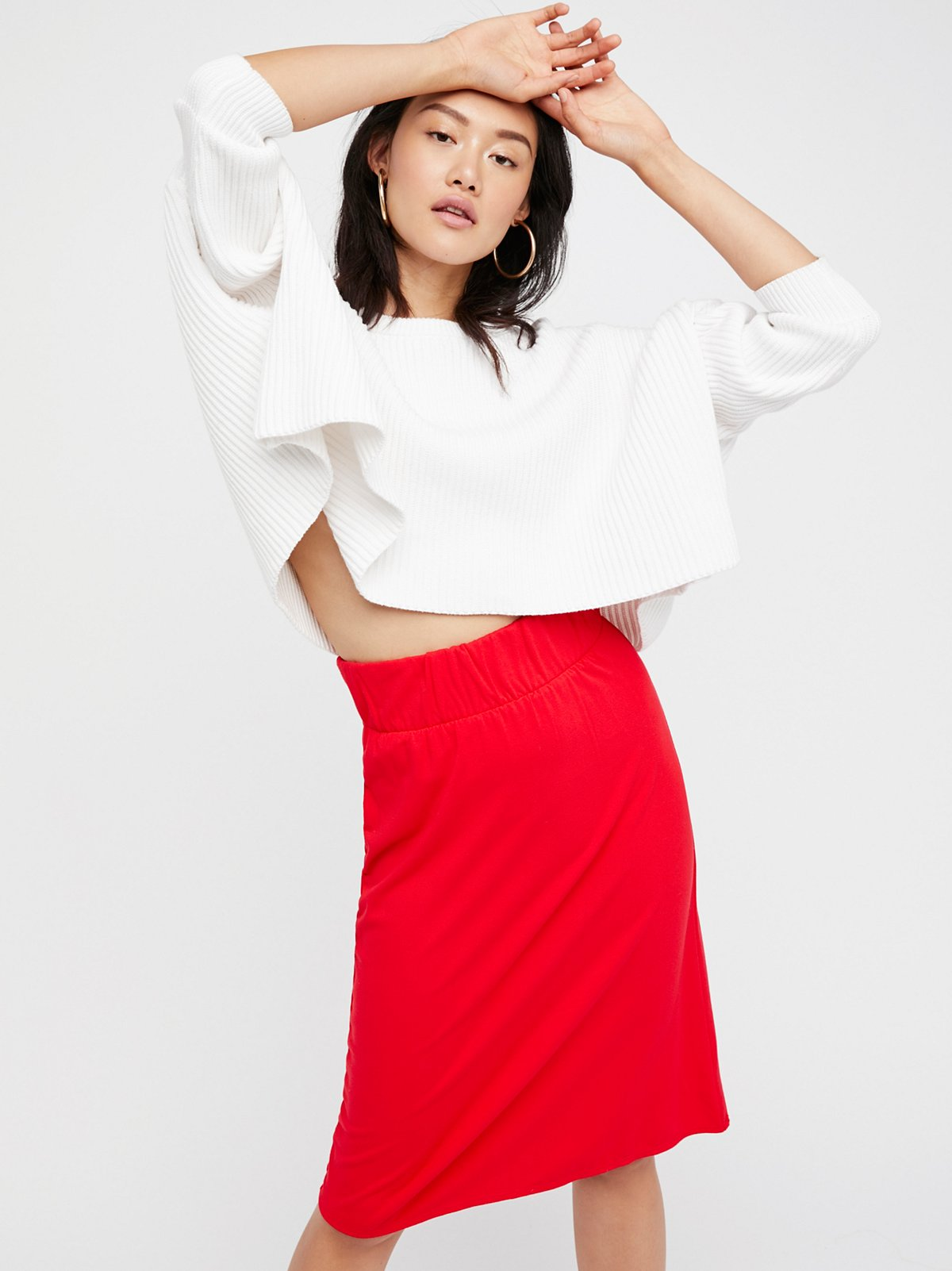 Bring It Back Midi Skirt