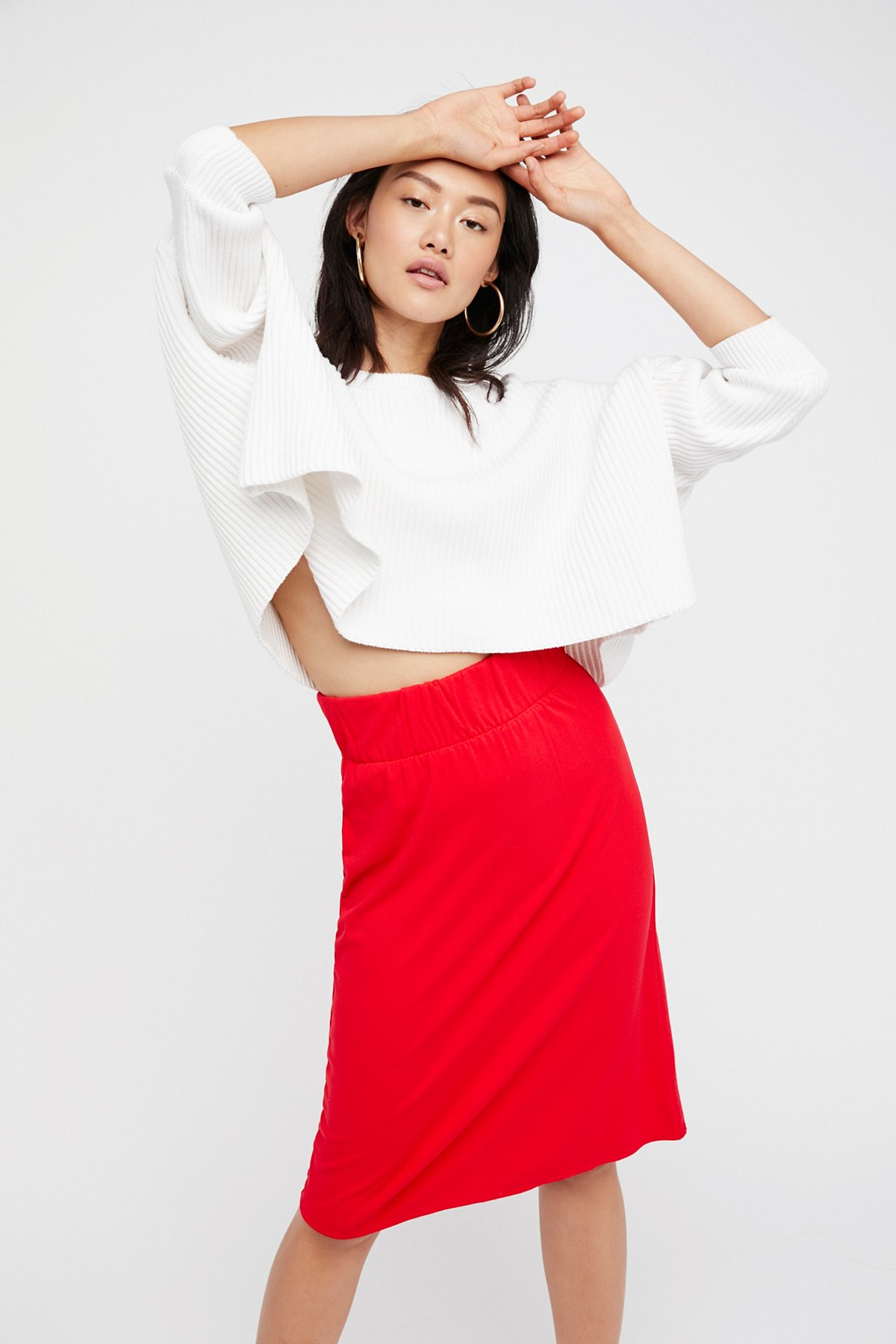 Bring It Back Midi Skirt
