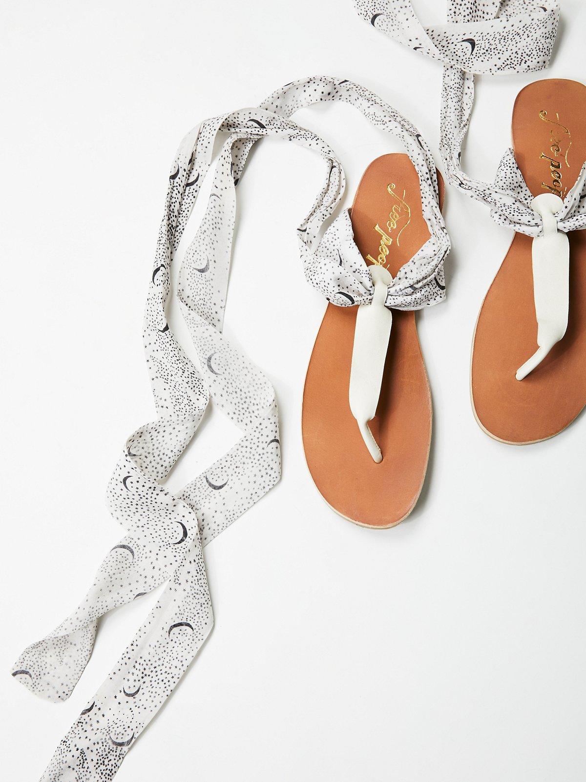 Palm Springs Wrap Sandal