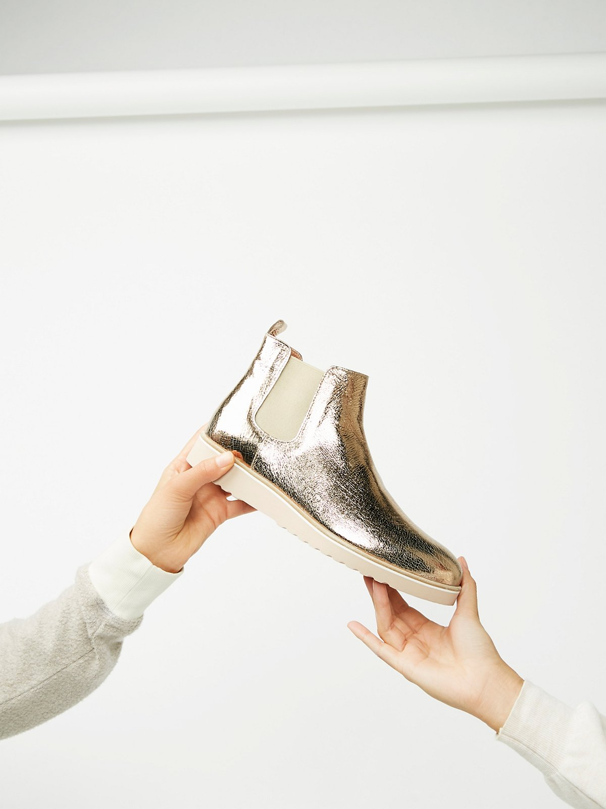 Stay Golden Chelsea Boot