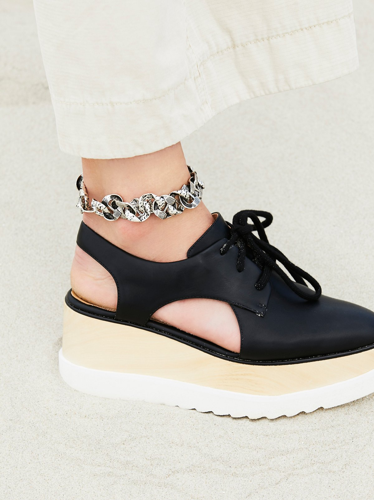 Chain Link Metal Anklet