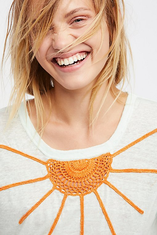 Product Image: Conversational Crochet Top