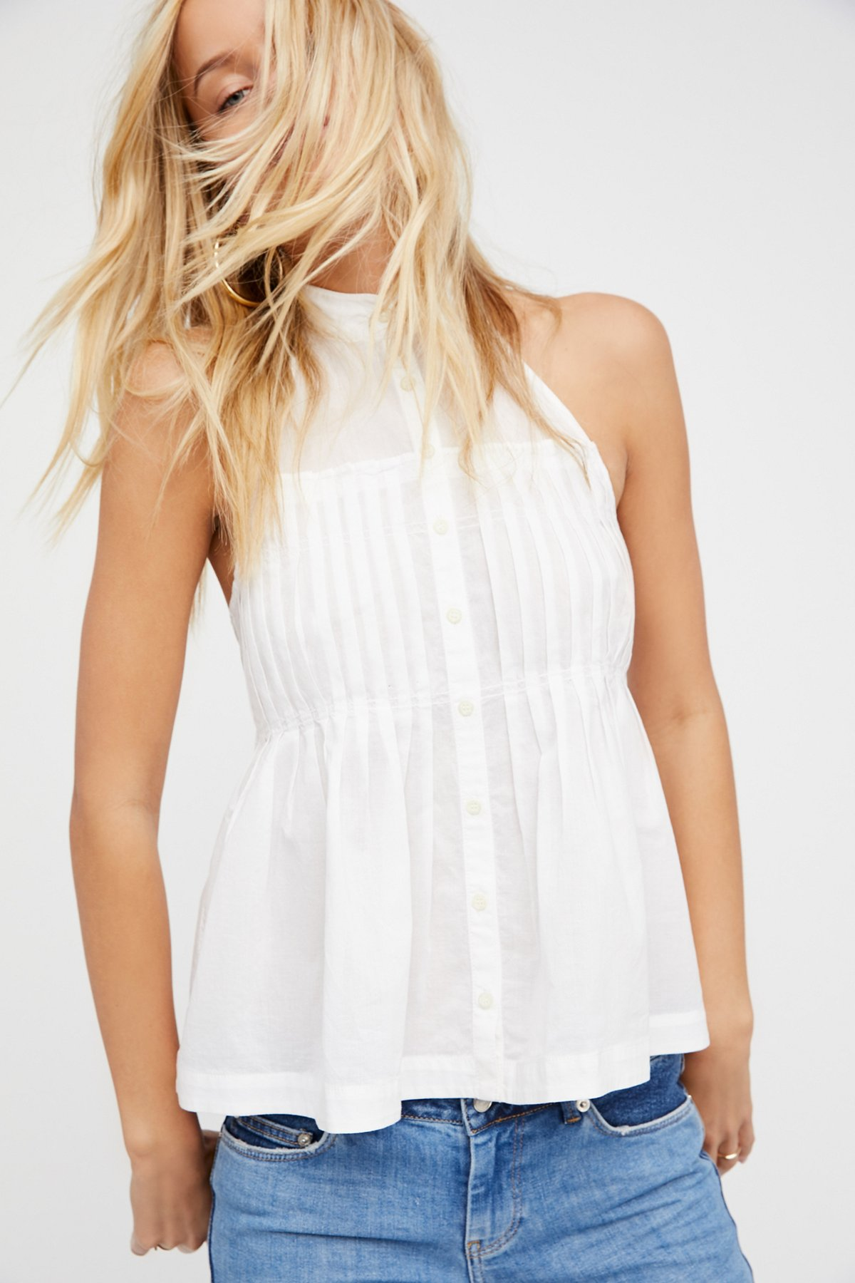 Take It Easy Solid Halter