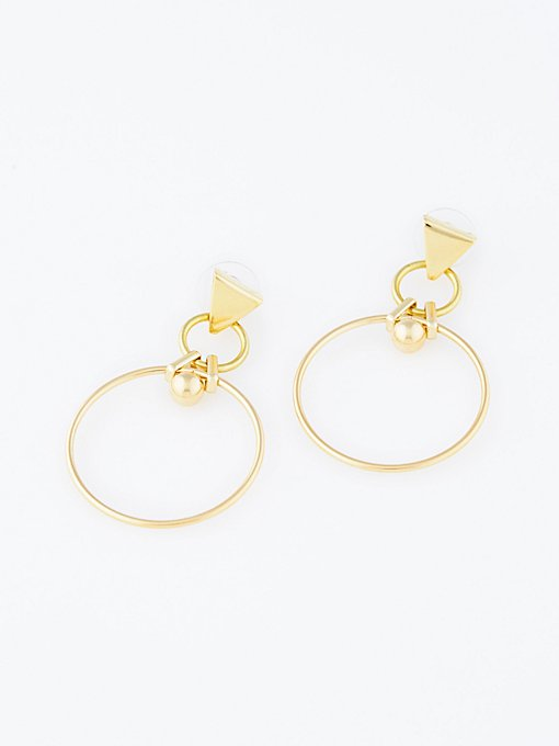 Product Image: Astrid Metal Hoops