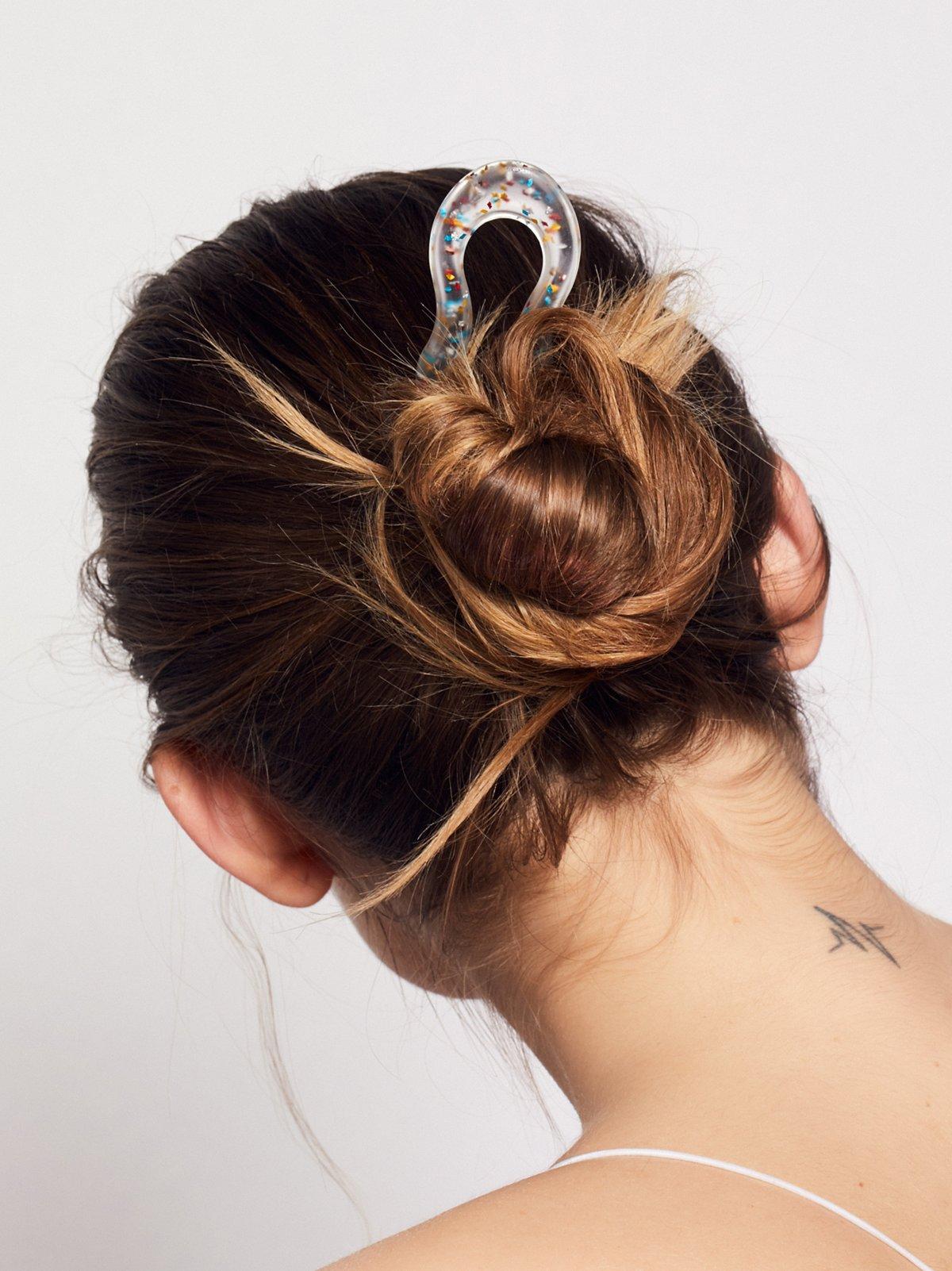 Confetti Hair Pick