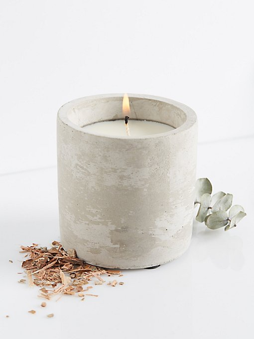 Product Image: Cement Candle Cylinder