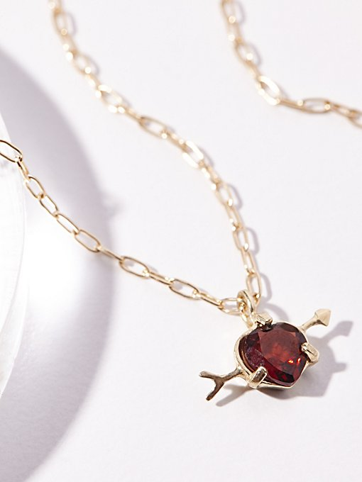 Product Image: 10k Cupids Heart Necklace