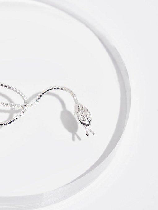Product Image: 10K Diamond Snake Threader