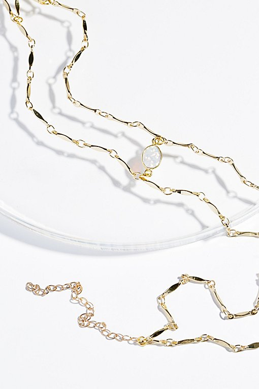 Product Image: Opal Draped Delicate Choker