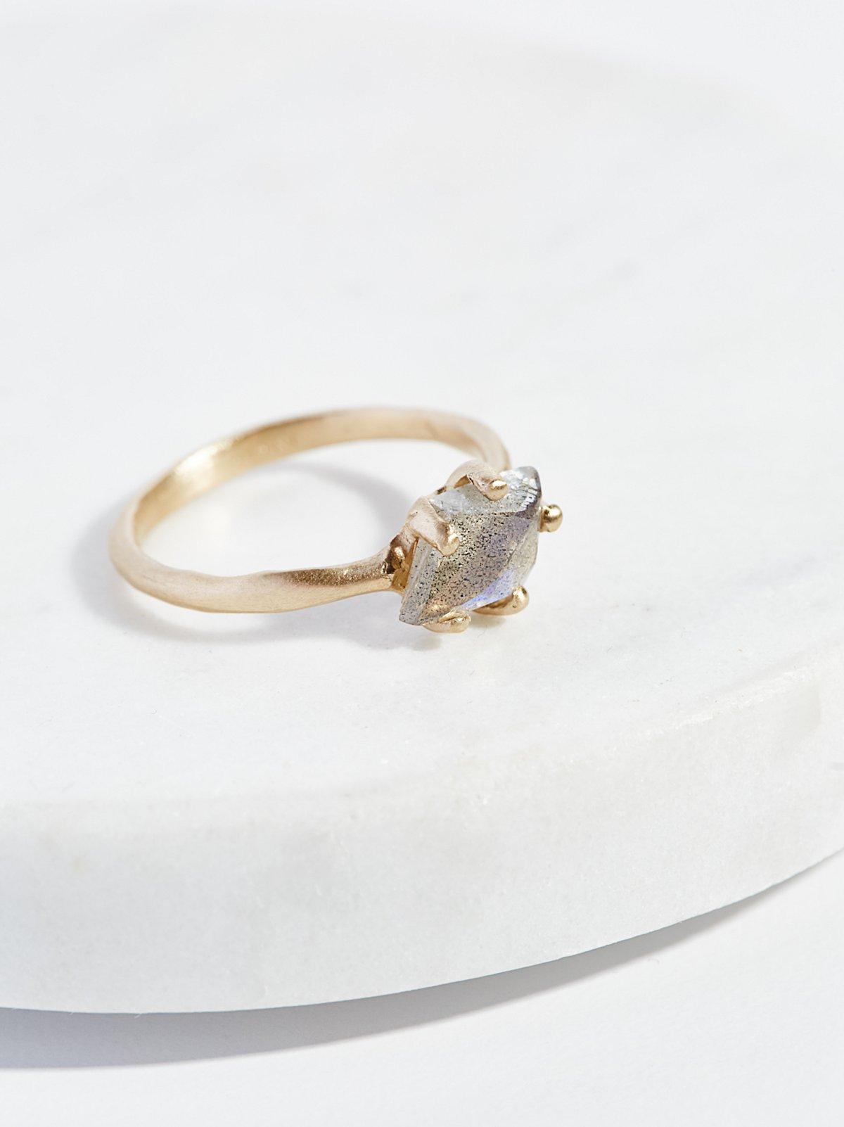 14k Sloan Raw Stone Ring