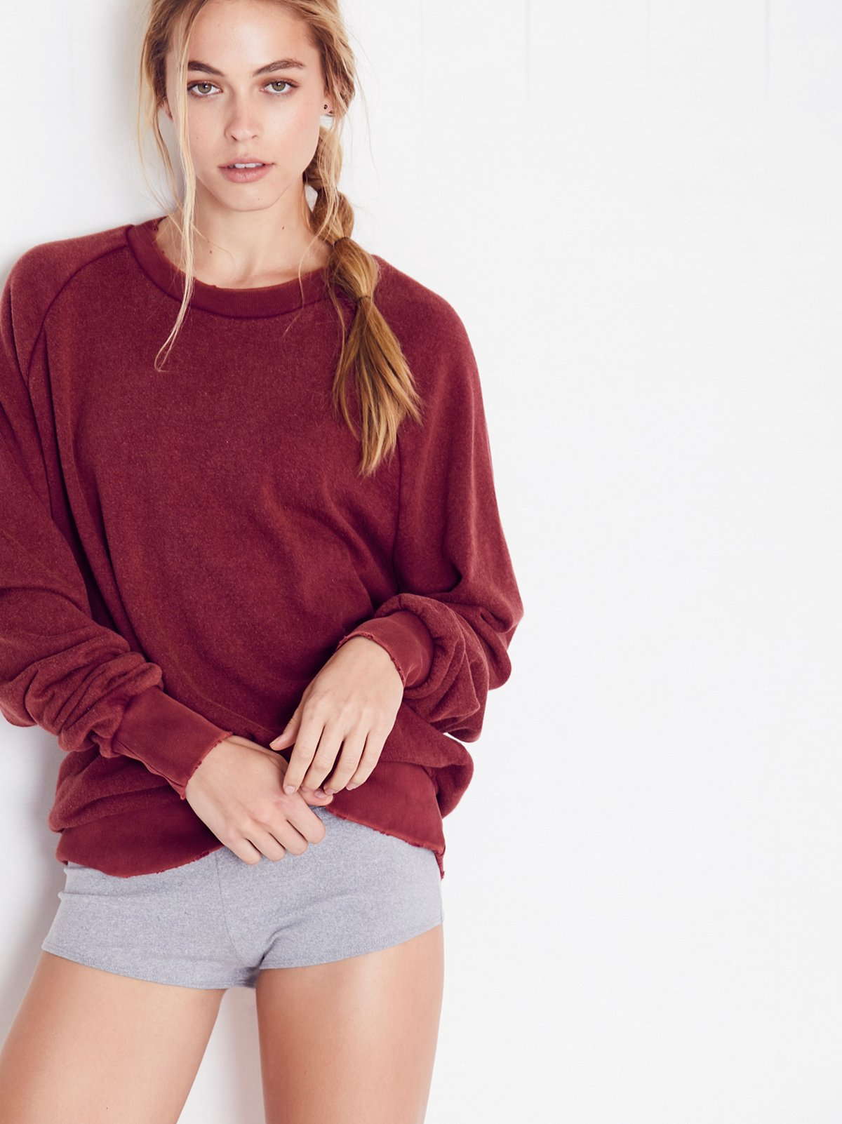 Solid Rough and Tumble Sweatshirt