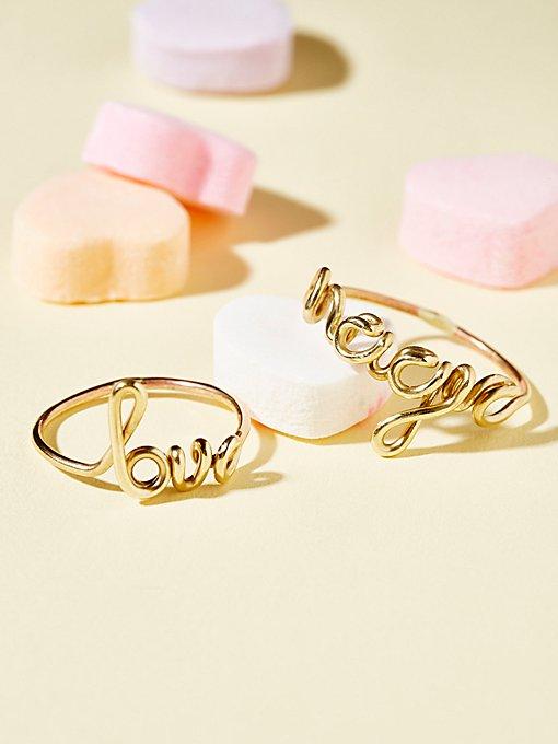 Product Image: Talk Back Ring Set