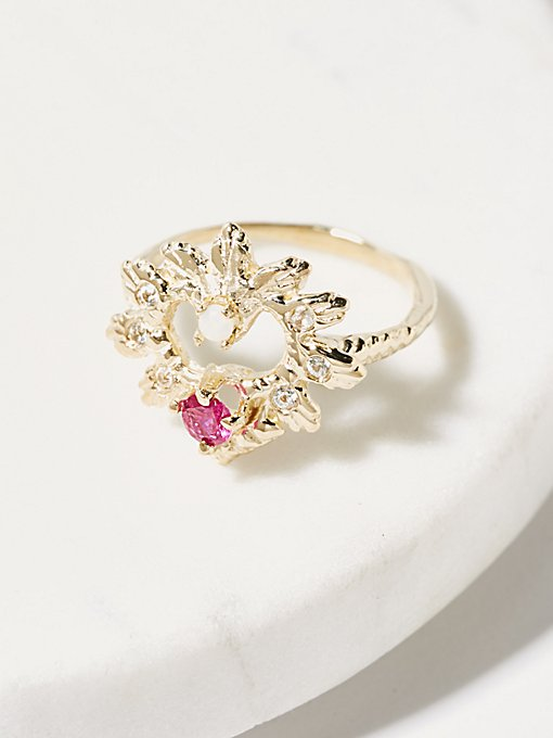 Product Image: 14K Heart Of Paradise戒指