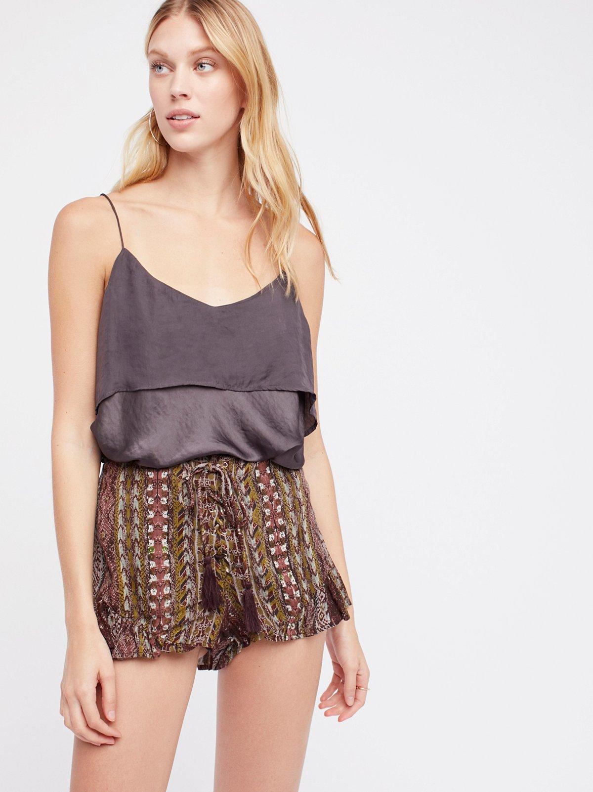 New Bohemian短裤