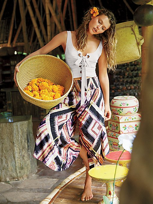 Product Image: Miranda Angular印花套穿式裤装
