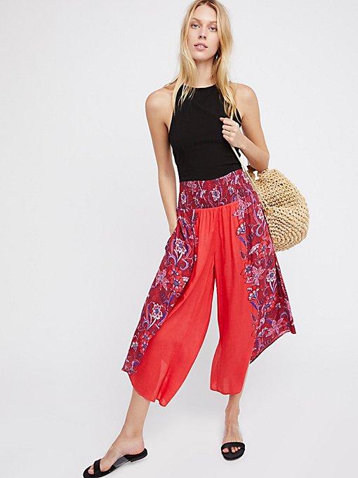 Product Image: Miranda Angular Printed Pull-On Pants