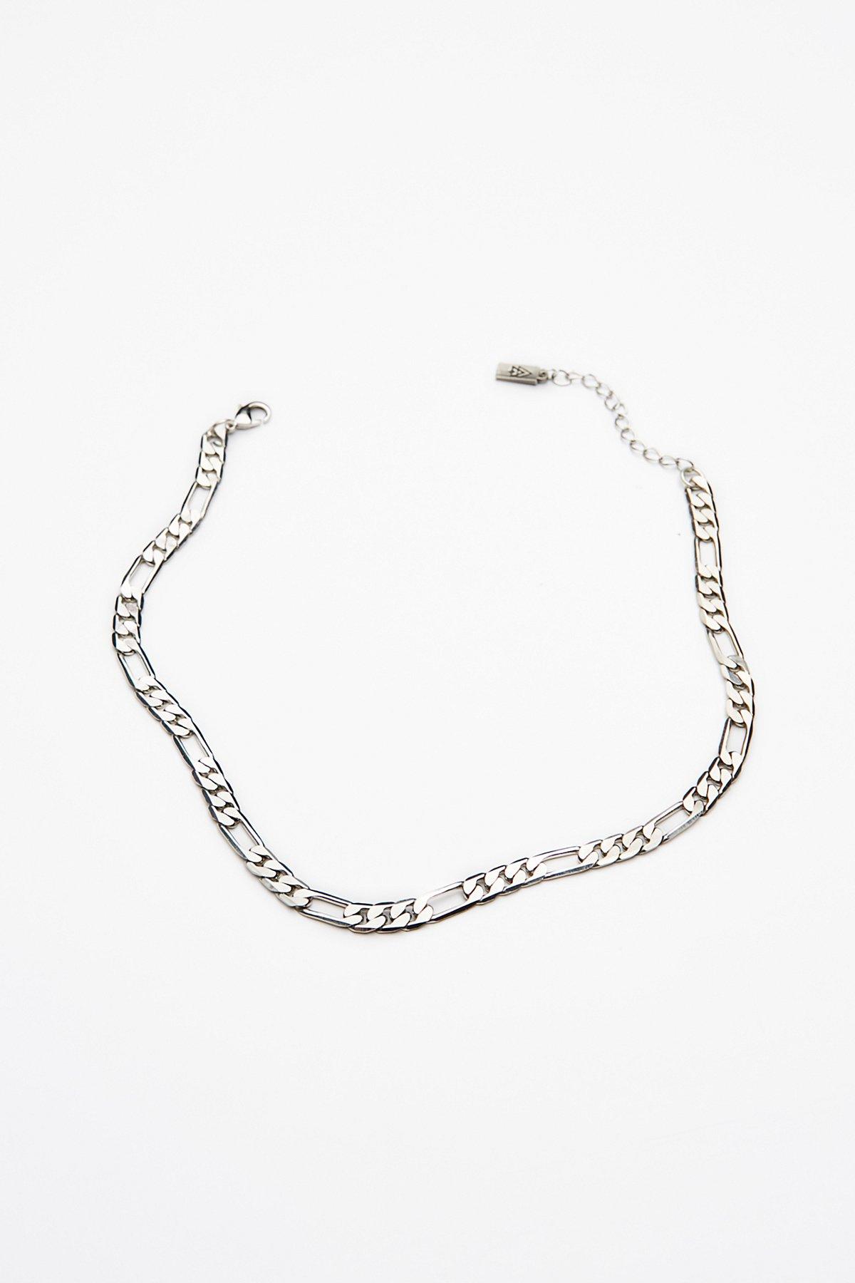 Figaro Chain Choker Necklace