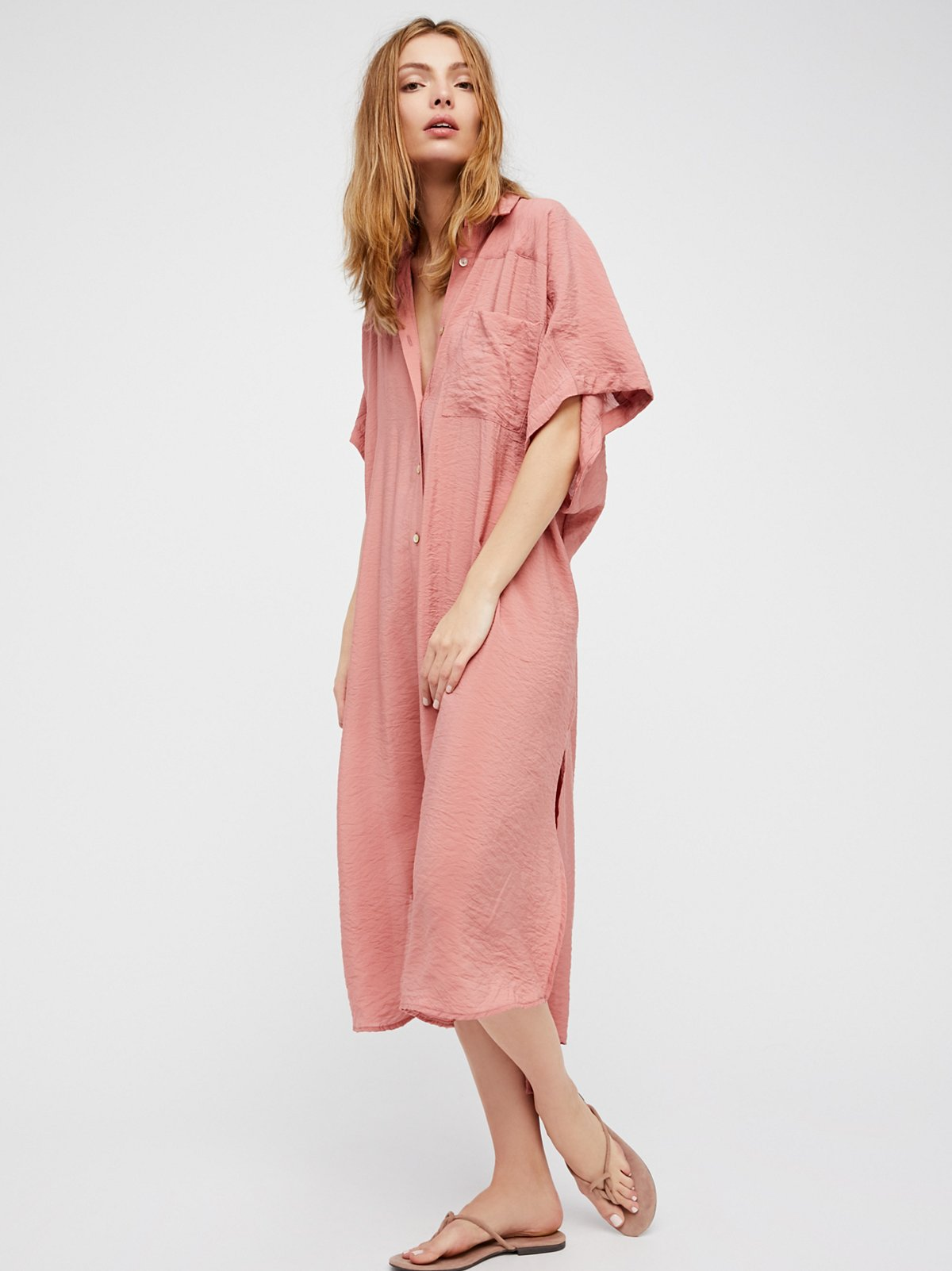 Lovely Things No.13 - Free People Blush Georgie Maxi Top