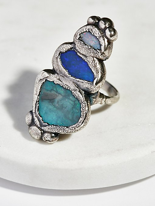 Product Image: Paradox Triple Opal Ring
