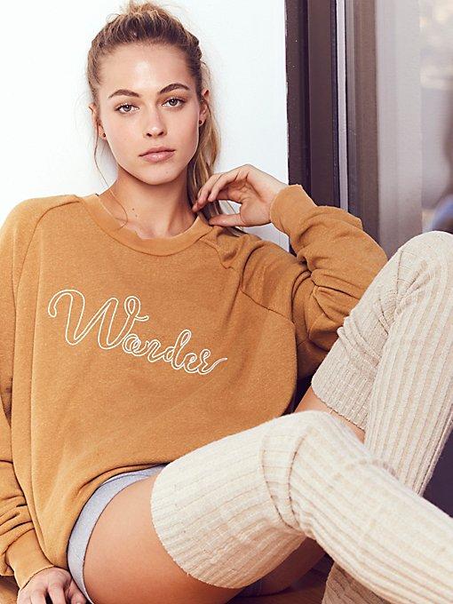 Product Image: Wonder Rough and Tumble Sweatshirt