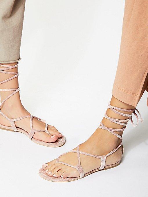 Product Image: Aria Velvet Sandal