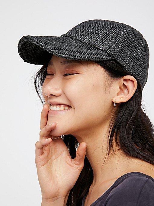 Product Image: Sunlit Swells Straw Baseball Hat