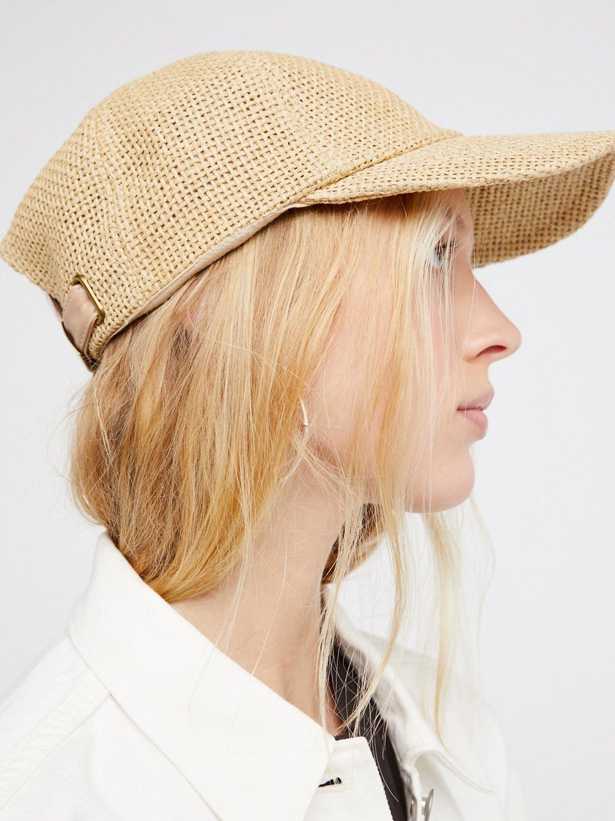 Sunlit Swells草编棒球帽