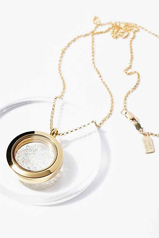 Product Image: Herkimer Crystal Shake小盒项链