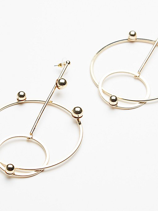 Product Image: Drop Down Double Hoops