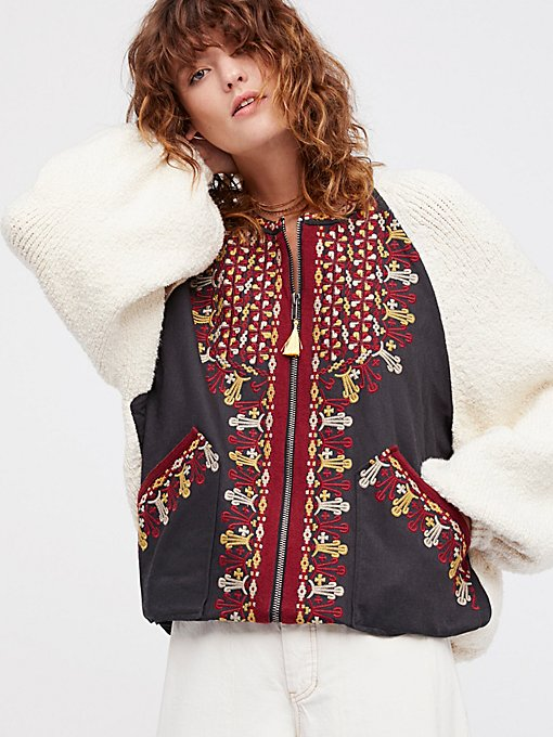 Product Image: Two Faced Embroidered Jacket