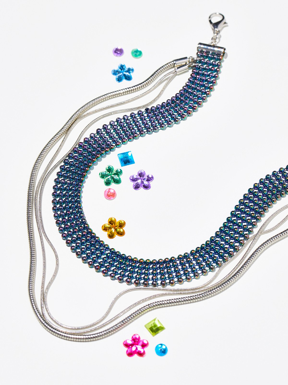 Rainbow Raver颈链