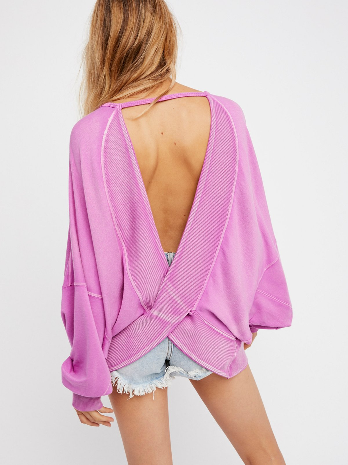 Back It Up Pullover